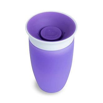 Munchkin - Vaso de Entrenamiento Miracle 360° de 10oz Morado