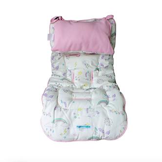 Maternelle - Protector de Coche Acolchonado - Rosado Unicornio