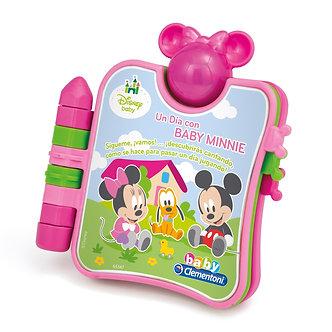 """Disney Baby-Libro Interactivo """"Un Día con Baby Minnie"""""""