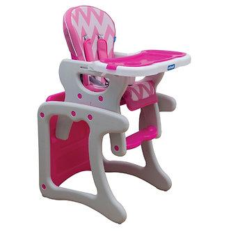 Infanti - Silla Comer Sit Up Zigzag Pink