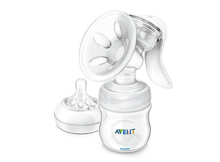 Avent - Extractor de Leche Manual Natural + Biberón 0m+