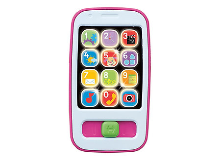 Fisher Price - Smartphone de aprendizaje Rosado