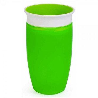 Munchkin - Vaso de Entrenamiento Miracle 360° de 10oz Verde