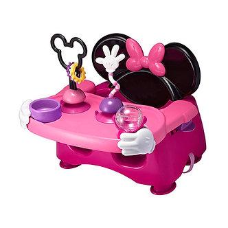 Disney Home - Silla Portátil para Comer con Actividades Minnie Mouse