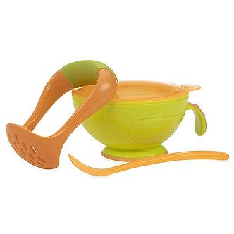 Nuby - Garden Fresh Bowl Para Hacer Papilla