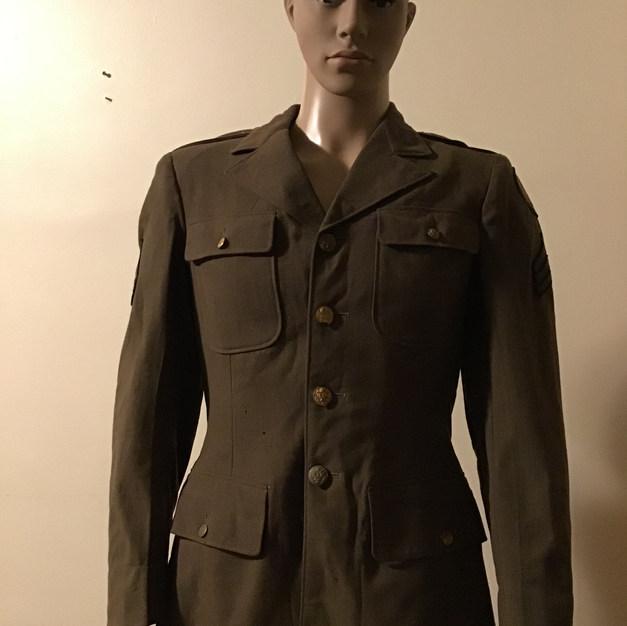 WWII SGT. Army Jacket