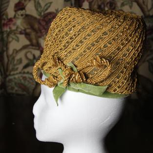 1960's Lady's Pillbox Hat #1