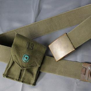 WWII U.S. Army Belt & Magazine Pouch