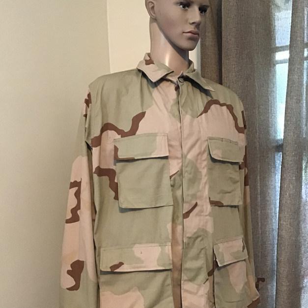 Desert Storm Fatigue Jacket