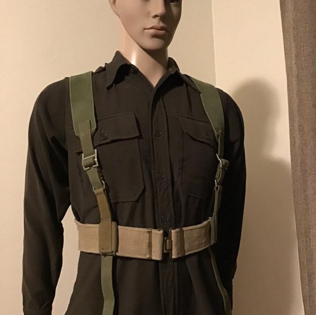 WWII British Shoulder Holster & Belt
