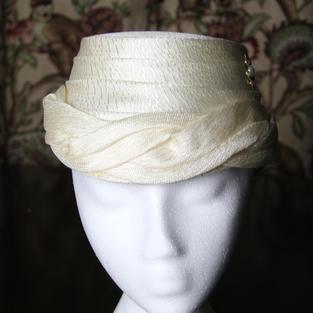 1960's Lady's Pillbox Hat #6