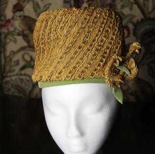 1960's Lady Pillbox Hat #1