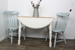 Drop-Leaf Table & Chairs