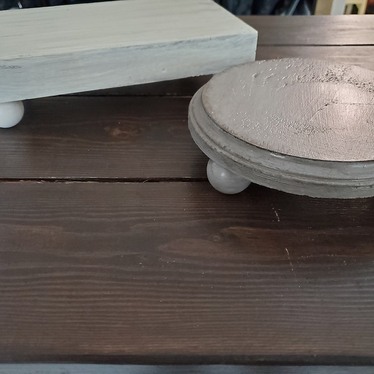 Craft Workshop - Decorative Risers out of Repurposed Decor (10/9/2021)