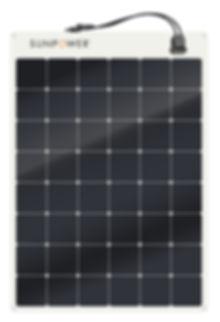 SunPower® 170W flexibe solar panel