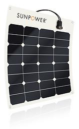 SunPower® 50Watt flexible solar panel