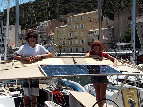 Chartering: With and Without Solar Power