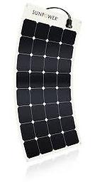 SunPower® 100Watt flexible slar panel