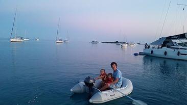 Sunset Dingy Adventures, Croatia
