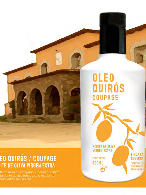Oleo Quirós. Coupage. 500 ml.