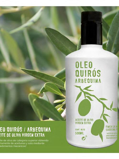 Oleo Quirós. Arbequina. 500 ml.