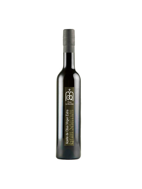 Vista frontal botella gran seleccion finca la moncloa 500 ml