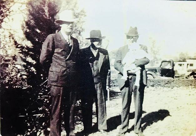 Four generations of Darsey Landmen