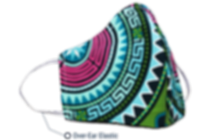 Over-Ear Elastic Face Mask