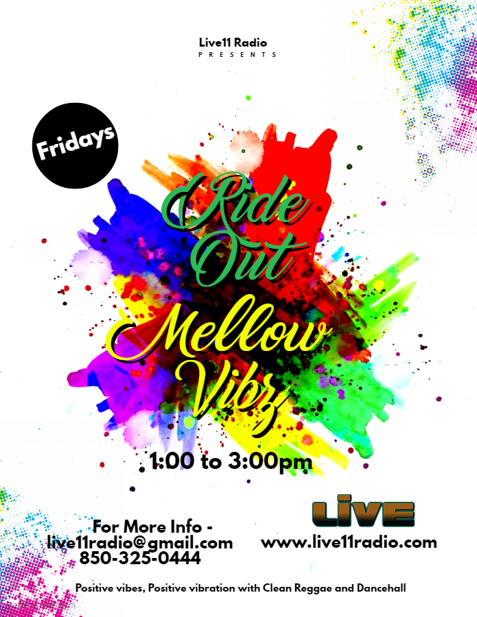 Ride Out & Mellow Vibz Flyer