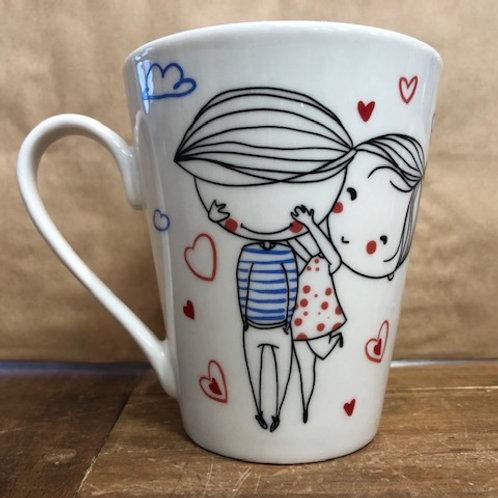 Tasse amour calins