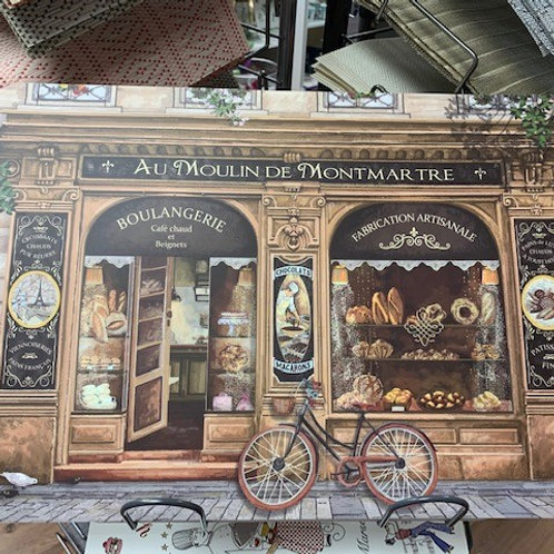 Set de table Boulangerie