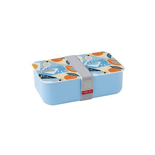 Boite repas  bleu foncé 1 compartiment