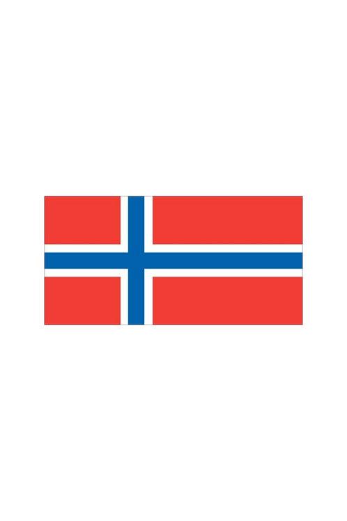 Norway National Flag 1/2 Yard