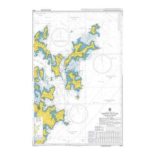 Admiralty Chart No. 2250 - Orkney Islands Eastern Sheet