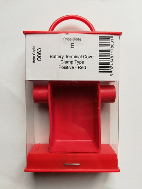 Holt Battery Terminal Cover Clamp Type Positive - Red