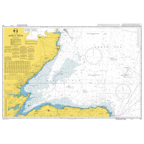 Admiralty Chart No. 115 - Moray Firth