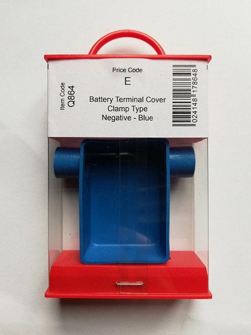 Holt Batteru Terminal Cover Clamp Type Negative - Blue