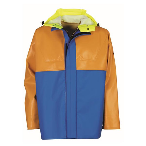 Guy Cotten Isopro Jacket - Yellow/Blue