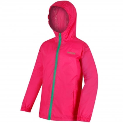 Regatta Kids Pack it Jacket - Hot Pink