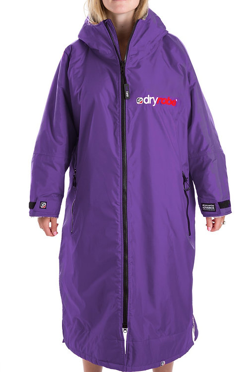 Dryrobe Advance Long Sleeve - Purple & Grey