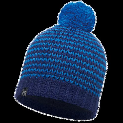 Buff Knitted Hat - Dorn Blue Hat