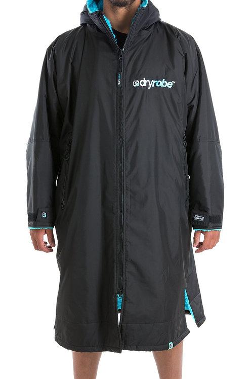 Dryrobe Advance Long Sleeve - Black & Blue