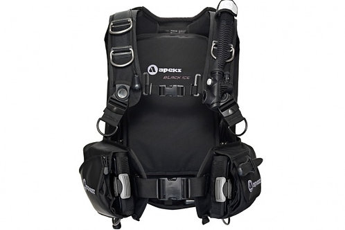 Apeks Black Ice & Integrated Weight Pockets BCD