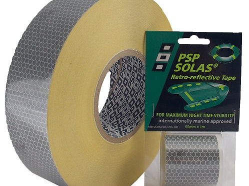 PSP Solas Retro-Reflective Tape - 50mm x 1m