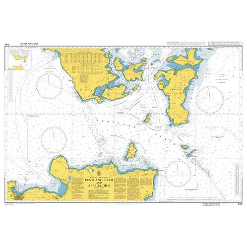 Admiralty Chart No. 2162 - Pentland Firth & Approaches