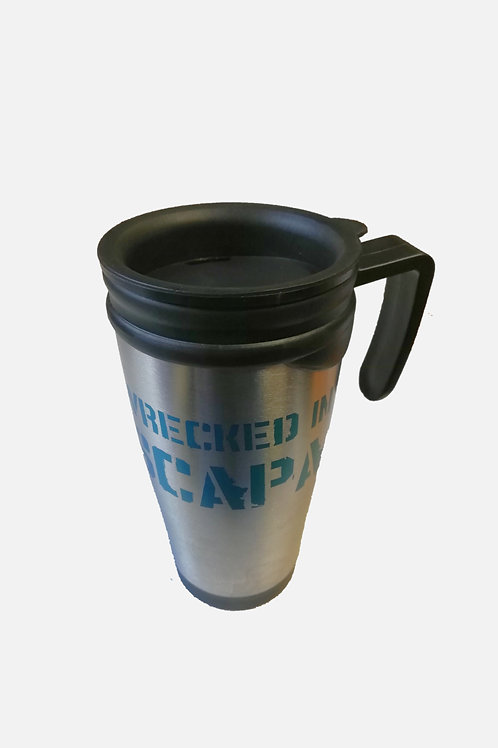 Wrecked in Scapa Thermal Mug