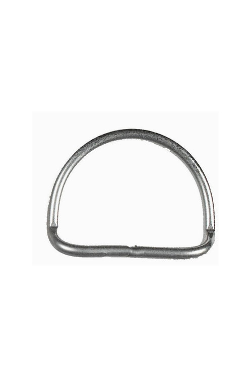 S/S Bent 45° Angle D-Ring 2""