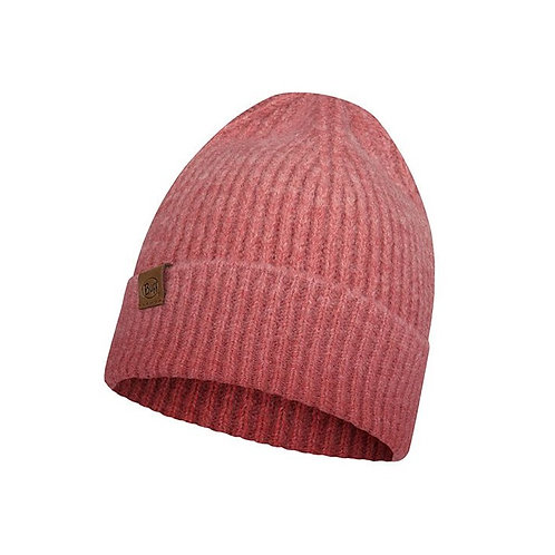 Buff Knitted Hat - Marin Pink