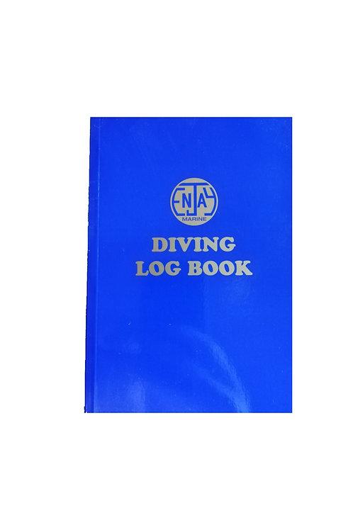 Enjay Soft back blue Logbook