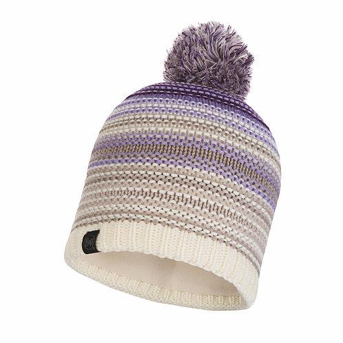 Buff Knitted Hat - Neper Violet Cru Hat